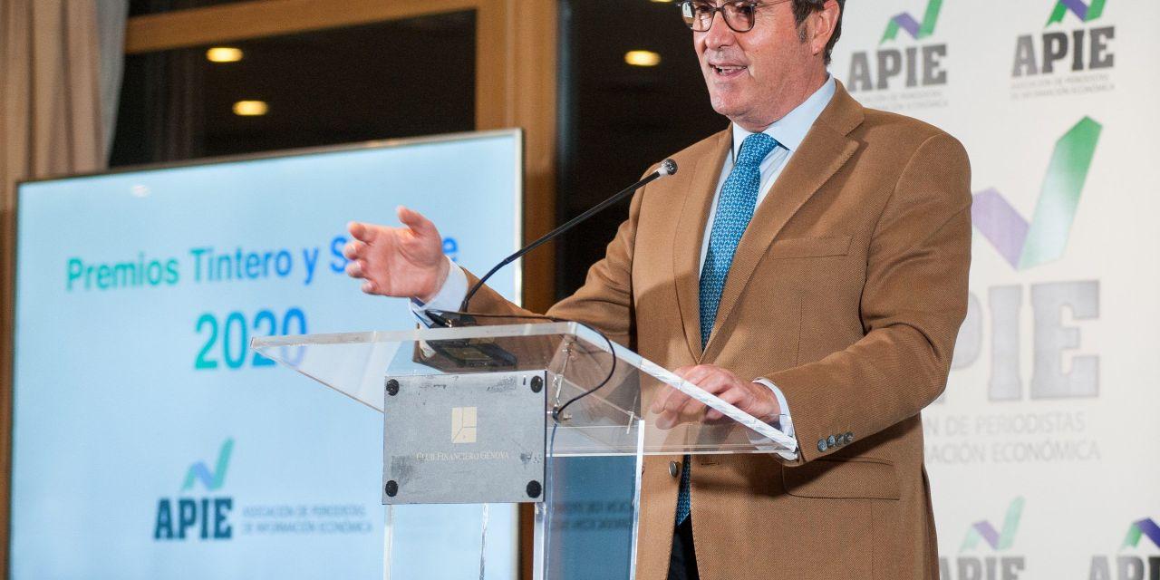 """Antonio Garamendi: """"necesitamos unos medios de comunicación libres"""""""