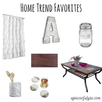 Friday Favorites | Home Decor Trends