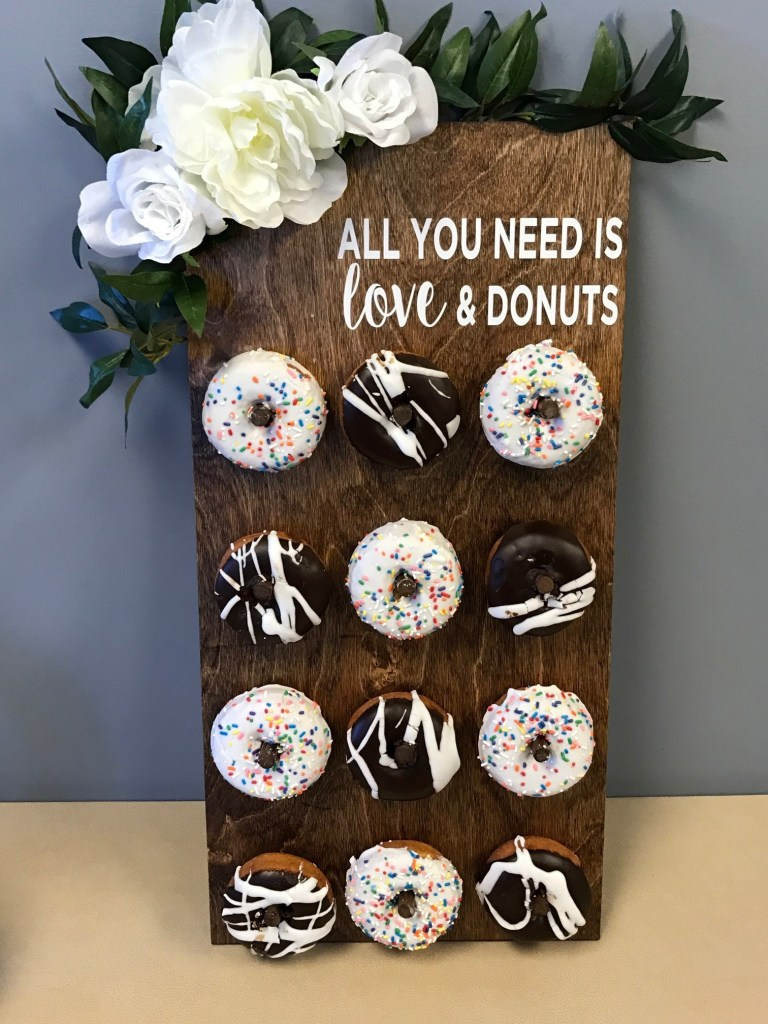 DIY Donut Board