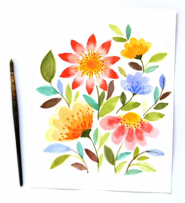 Make Bubble Paint Flower Hydrangeas A Piece Of Rainbow
