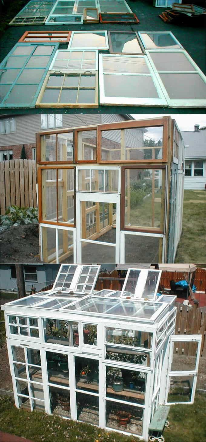 Frame Windows Wood Salvage