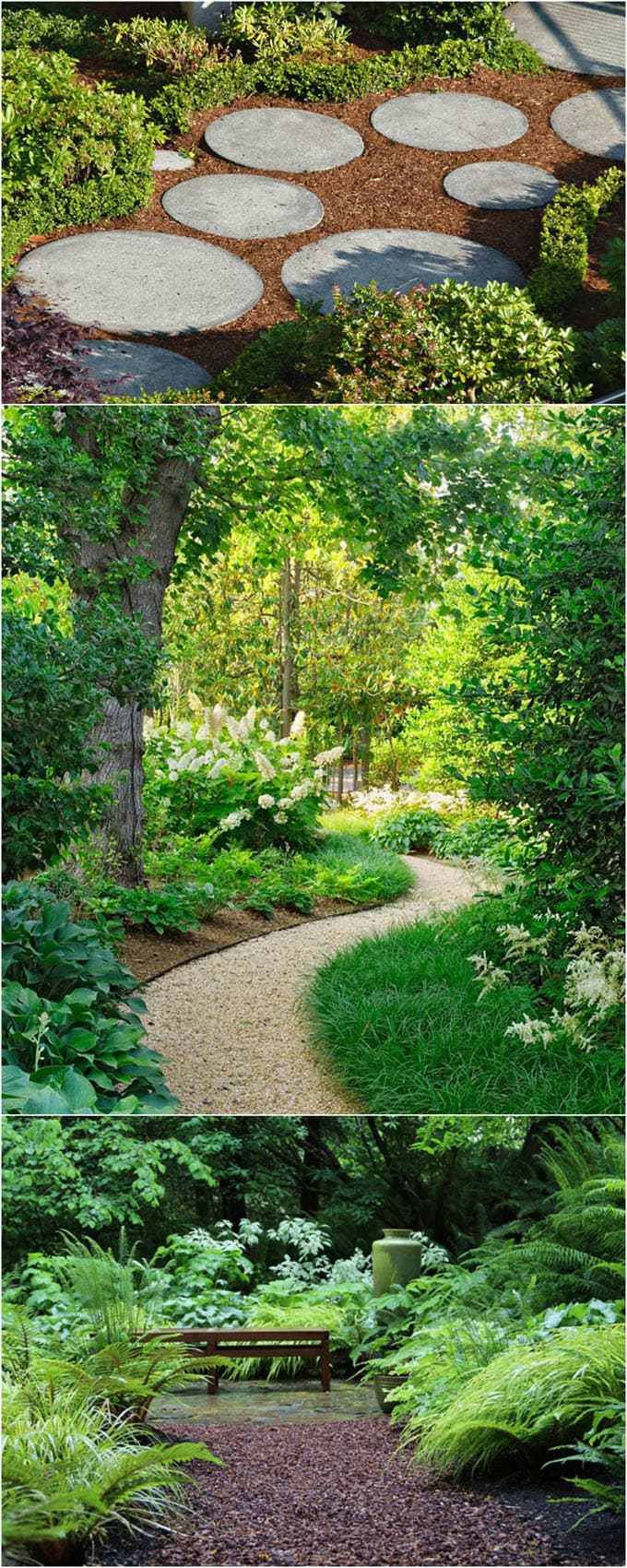 25 Most Beautiful DIY Garden Path Ideas - A Piece Of Rainbow on Backyard Walkway Ideas id=31213