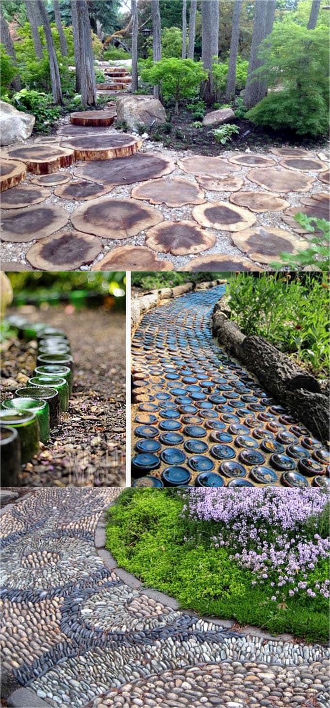 25 Most Beautiful DIY Garden Path Ideas - Page 2 of 2 - A ... on Backyard Walkway Ideas id=69018