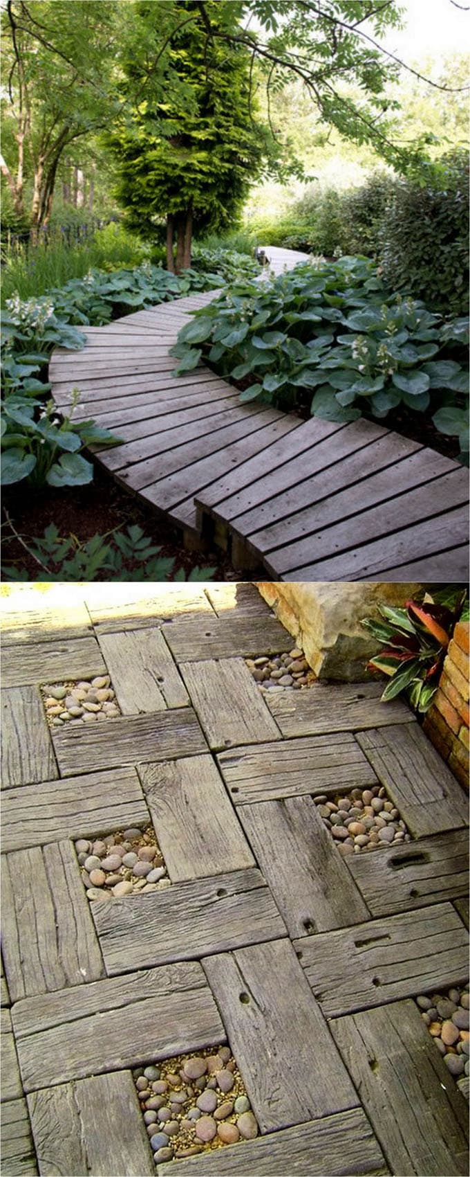 25 Most Beautiful DIY Garden Path Ideas - Page 2 of 2 - A ... on Backyard Walkway Ideas id=49365