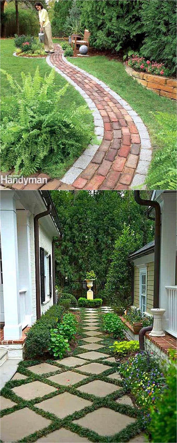 25 Most Beautiful DIY Garden Path Ideas - A Piece Of Rainbow on Backyard Walkway Ideas id=12206