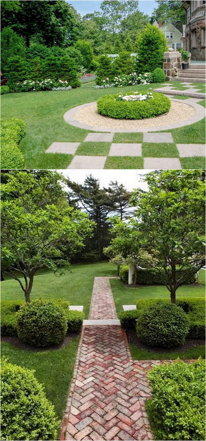 25 Most Beautiful DIY Garden Path Ideas - A Piece Of Rainbow on Backyard Walkway Ideas id=41154