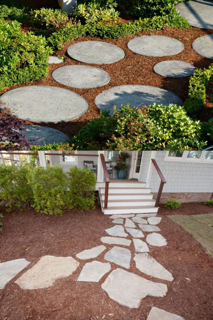 25 Most Beautiful DIY Garden Path Ideas - A Piece Of Rainbow on Patio And Path Ideas  id=22889