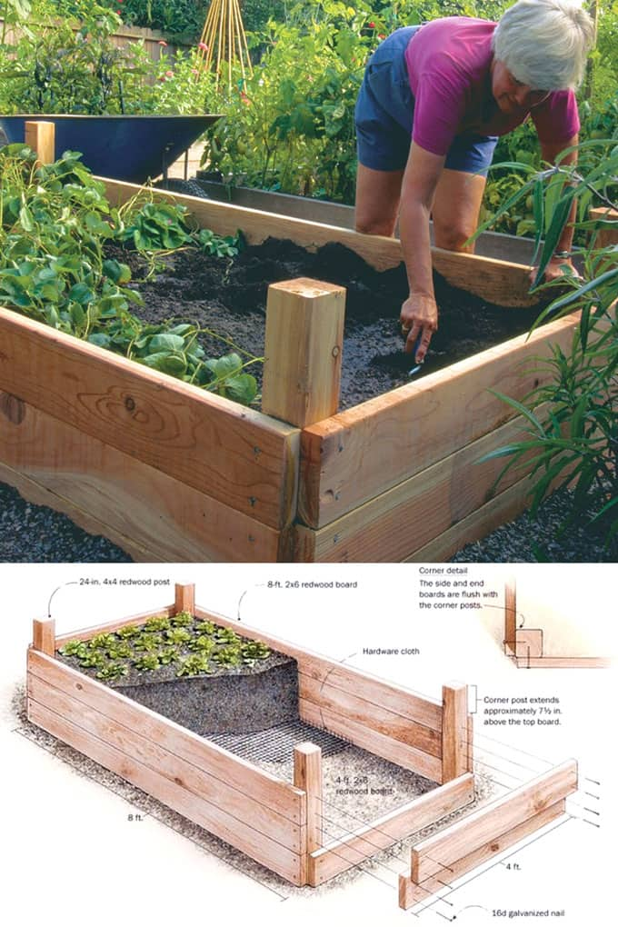 Building Raised Garden Cheap