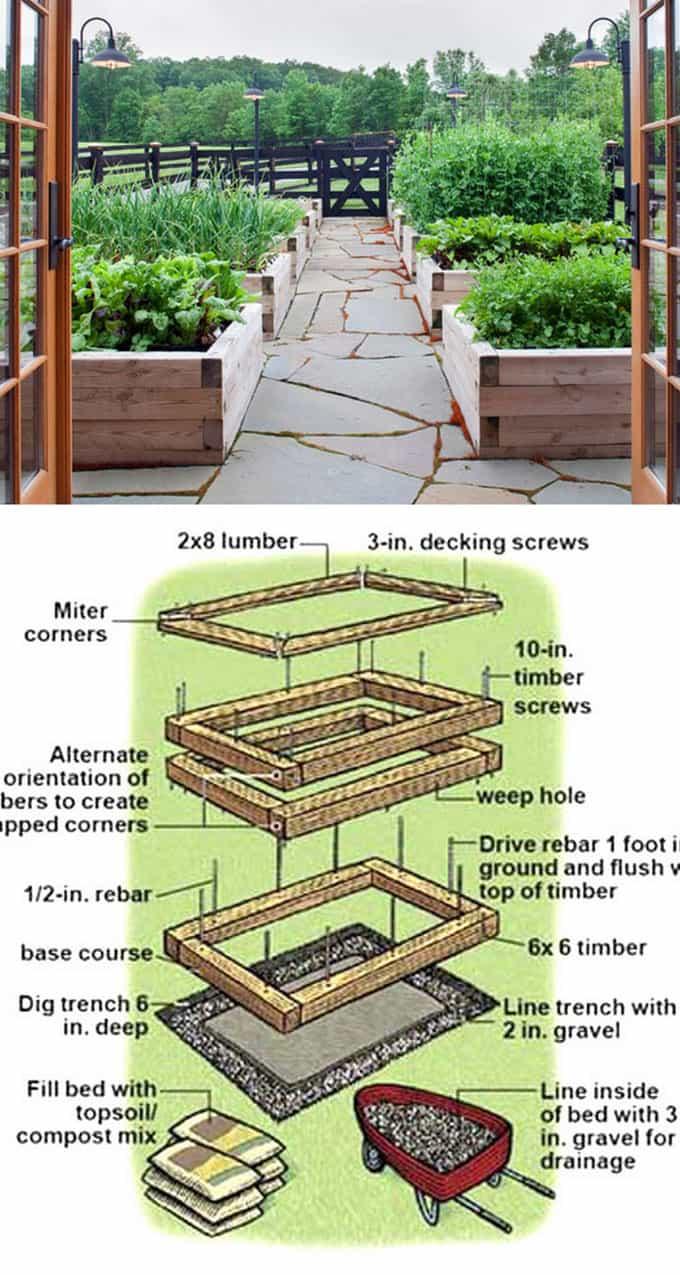 Best Wood Raised Planters