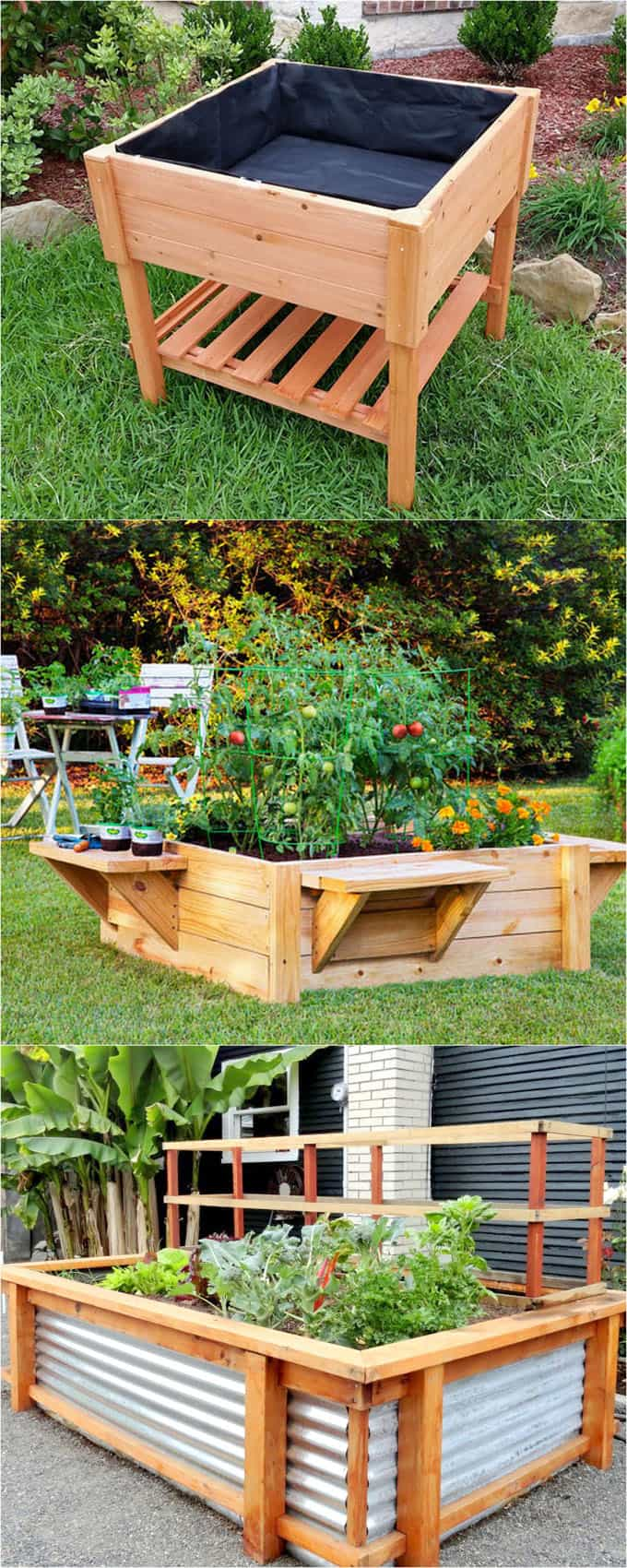 All About Diy Raised Bed Gardens Part 1 A Piece Of Rainbow