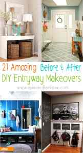 21 Gorgeous Achievable Before After Diy Entryway Ideas