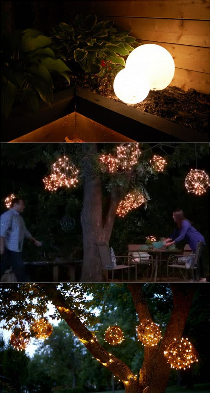 28 Stunning DIY Outdoor Lighting Ideas ( & So Easy ... on Backyard String Lights Diy id=62305