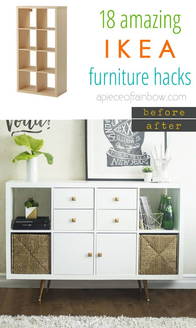 Easy Custom Furniture With 18 Amazing Ikea Hacks Page 3
