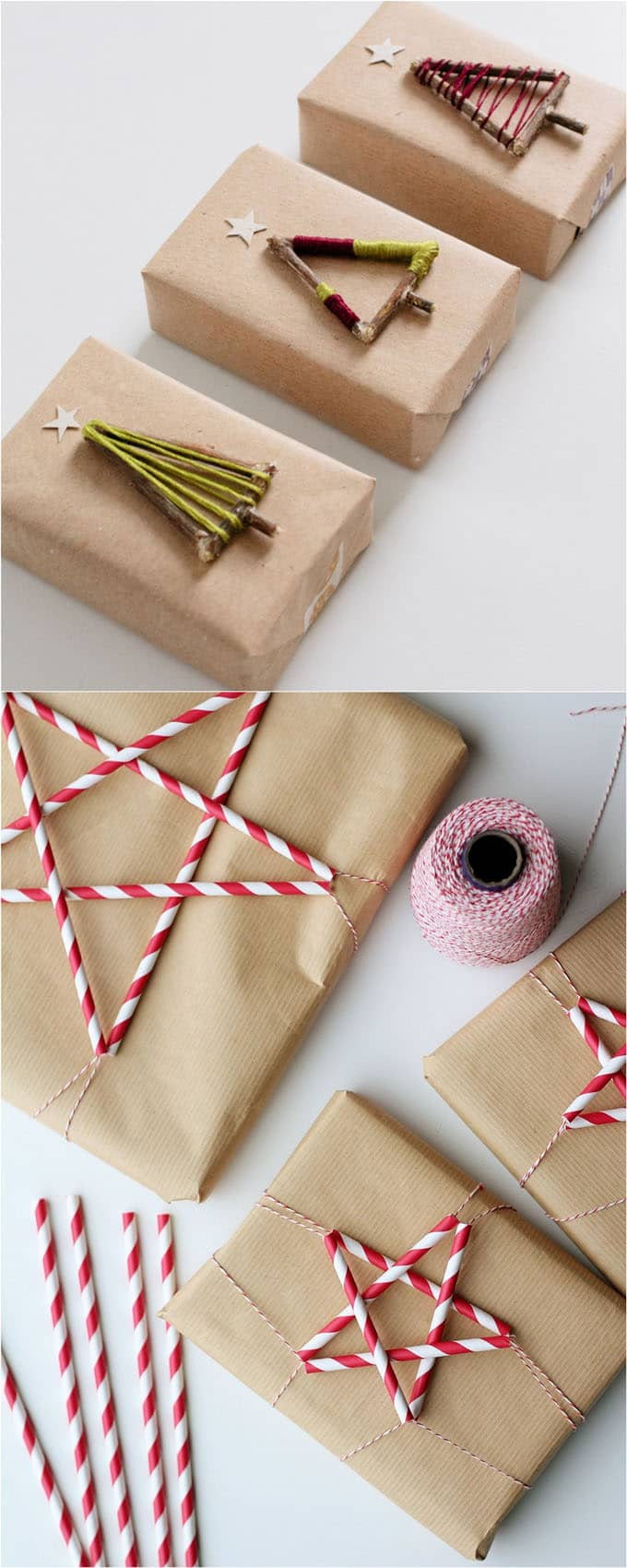 16 gift wrapping hacks apieceofrainbow 3 - 16 Favorite Easy Gift Wrapping Ideas (Many are Free!)