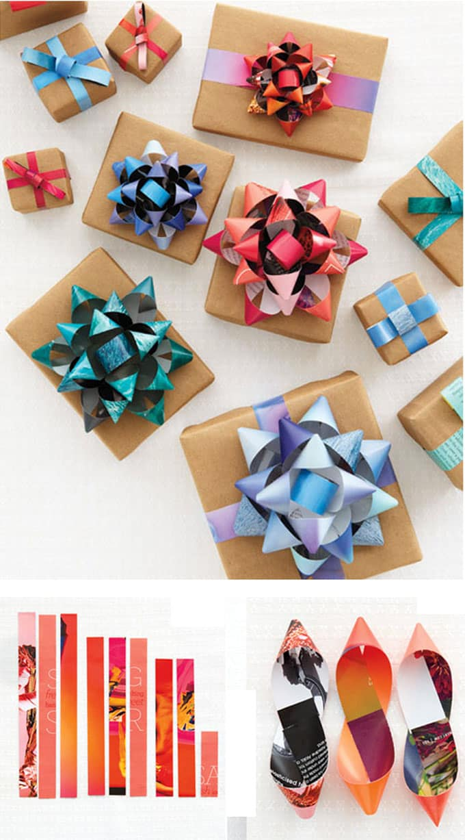 16 gift wrapping hacks apieceofrainbow 5 - 16 Favorite Easy Gift Wrapping Ideas (Many are Free!)