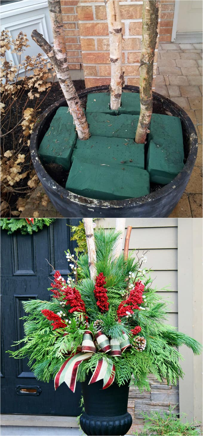 Gorgeous Outdoor Christmas Decorations: 32 Best Ideas ... on Patio Decorating Ideas With Lights  id=74301