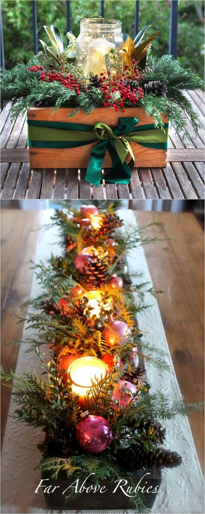 title | Christmas Table Centerpiece