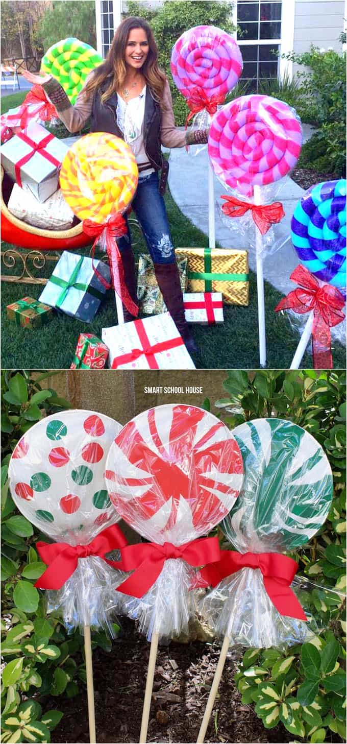 Gorgeous Outdoor Christmas Decorations: 32 Best Ideas ... on Lawn Decorating Ideas id=85528