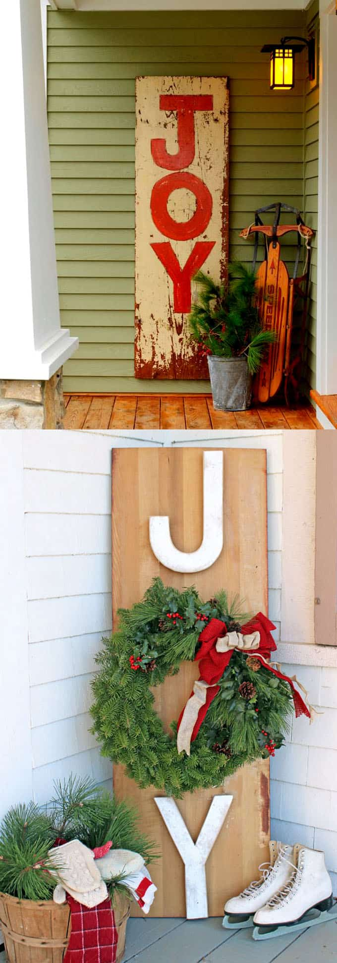 Gorgeous Outdoor Christmas Decorations: 32 Best Ideas ... on Lawn Decorating Ideas id=94824