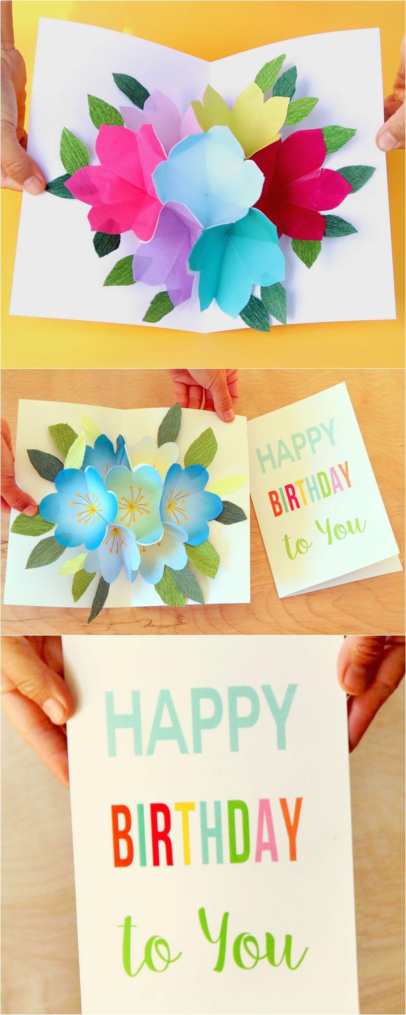 Imgenes De Happy Birthday Pop Up Cards For Dad