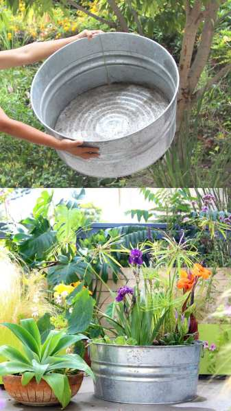 diy garden fountain Easy DIY Solar Fountain in 1 Hour! {with Pond Water Plants