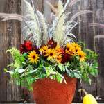 Diy Fall Thanksgiving Decorations Planter So Easy A Piece Of Rainbow