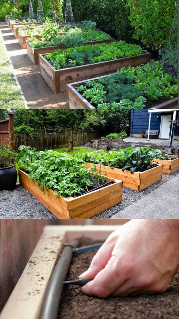 28 Best DIY Raised Bed Garden Ideas & Designs - A Piece Of ... on Backyard Raised Garden Bed Ideas id=43106