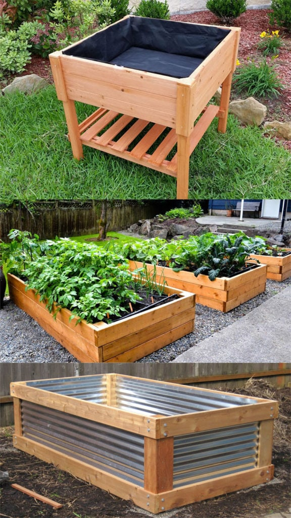 28 Best DIY Raised Bed Garden Ideas & Designs - A Piece Of ... on Raised Patio Designs  id=96527