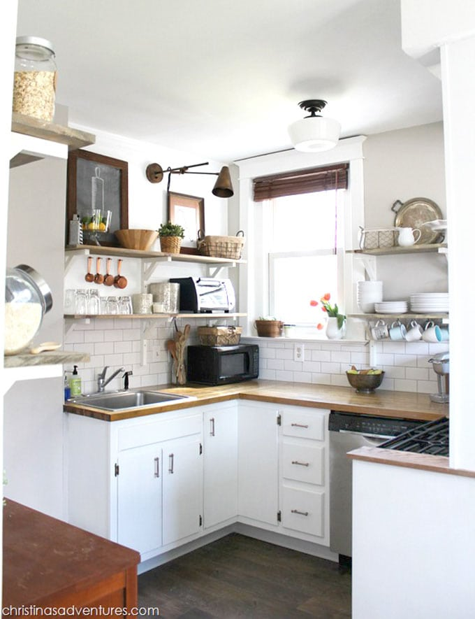 15 Inspiring Before After Kitchen Remodel Ideas (Must See ... on Small Kitchen Renovation  id=58661