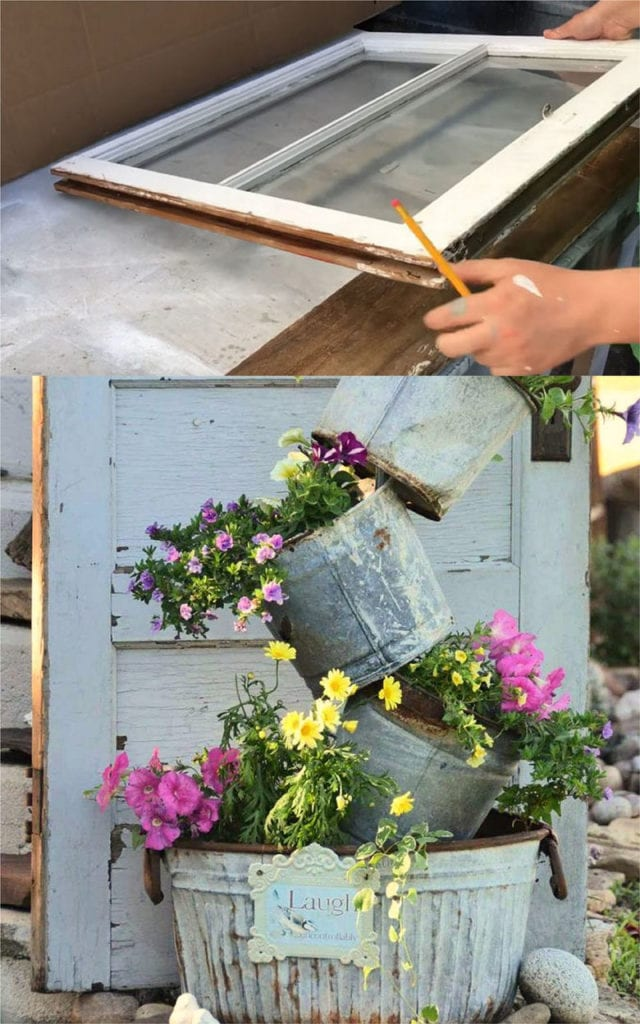 24 DIY Vintage Garden Decorations & Ideas - A Piece Of Rainbow on Diy Garden Decor  id=79173