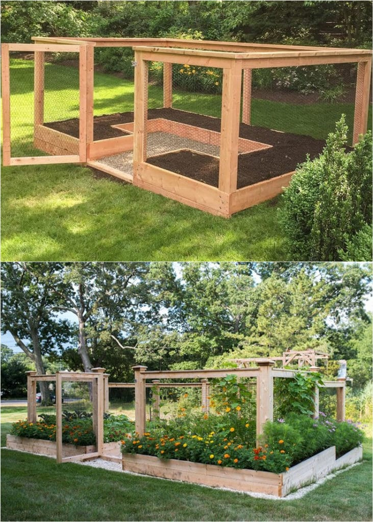 Vegetable Garden Layout: 7 Best Design Secrets! - A Piece ... on Vegetable Garden Ideas For Backyard id=66107
