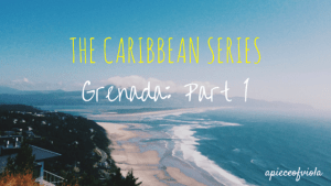 The Caribbean Series: Grenada – Part I