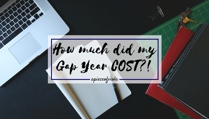 How much did my Gap Year Cost?!