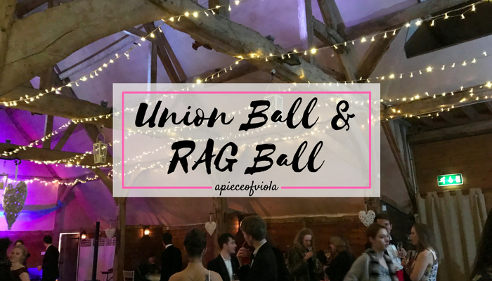 Oxford Balls: Union Ball and RAG Ball | Uni Diaries