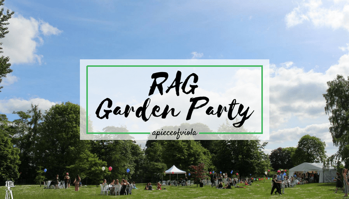 RAG Garden Party | Uni Diaries