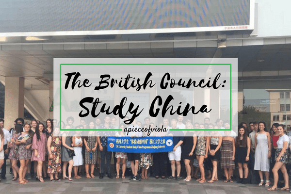 The British Council's Study China Programme