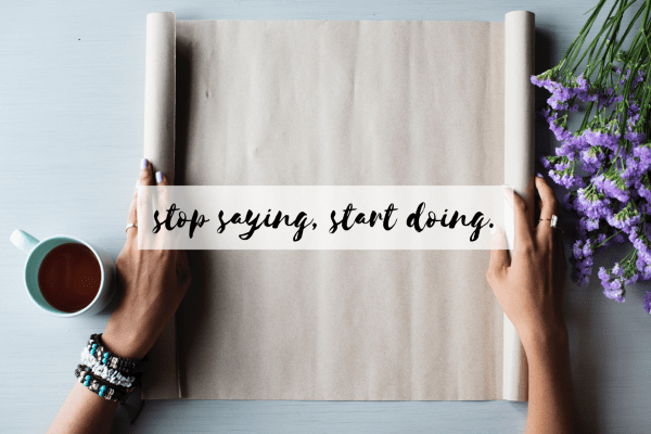 a simple trick to getting things done