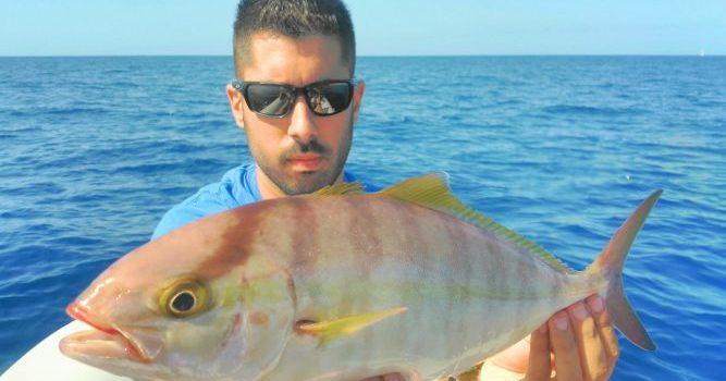 Pesca del medregal en las Islas Canarias.