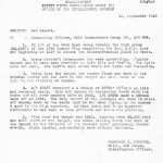 S-2 report for the 95th Bomb Group mission on September 15th 1943