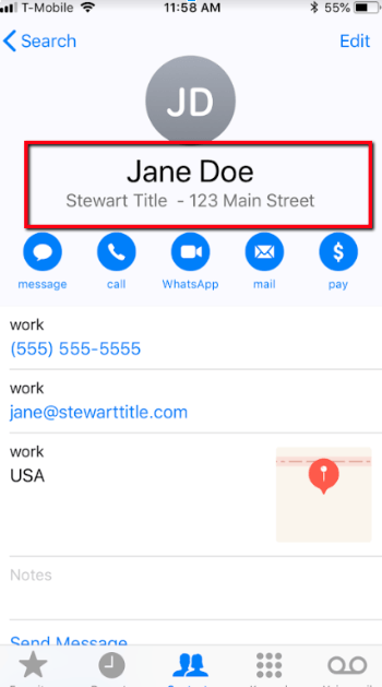 Sync Contacts from Dotloop Loops with Phone Book, Email and