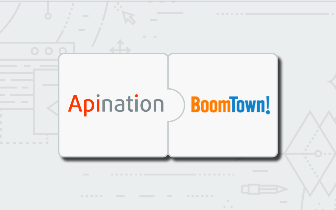 BoomTown! Leading Real Estate Software Provider, partners with API Nation for Integrations