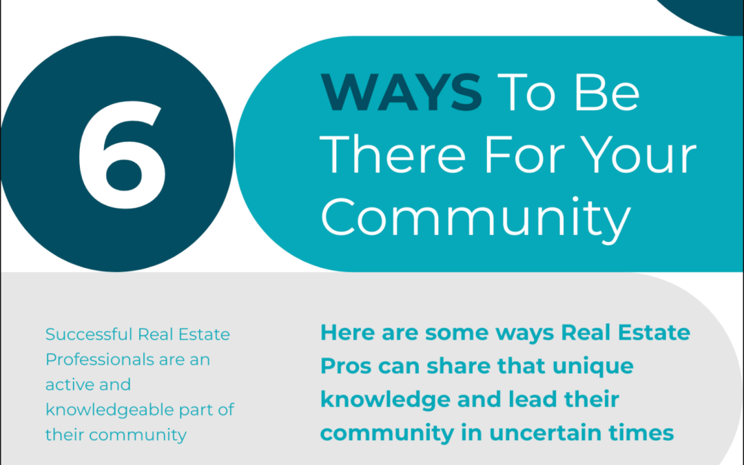 6 Ways Real Estate Pros Can Lead Their Community