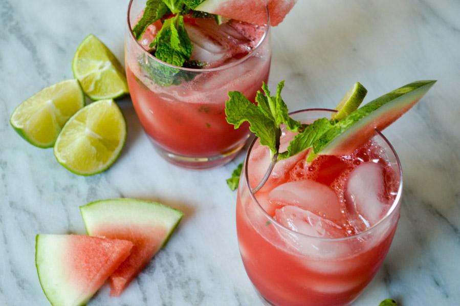 Fresh Watermelon Margaritas – A Pinch of Grace