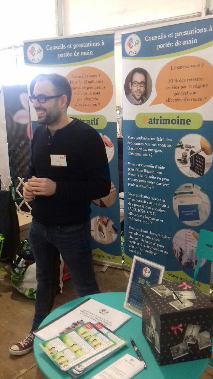 Antoine CHASSELOUP au salon du savoir-faire vendéen 2019