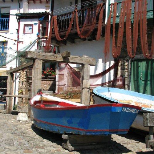 Spain. Asturias. Seaside town Tazones