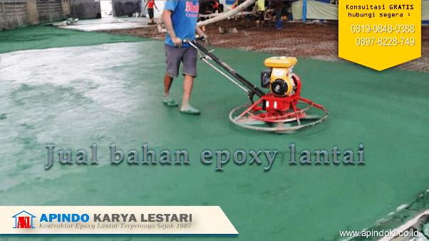 Jual Bahan Epoxy Lantai