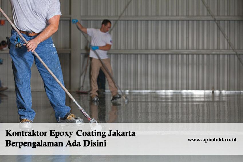 Kontraktor Epoxy Coating Di Jakarta