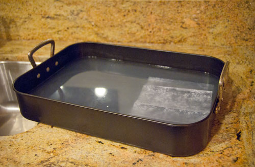 How to clean stuck-on foods from your bakeware