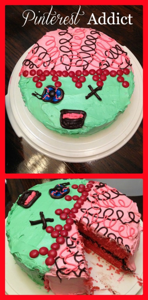 Zombie Cake for the Walking Dead Fan