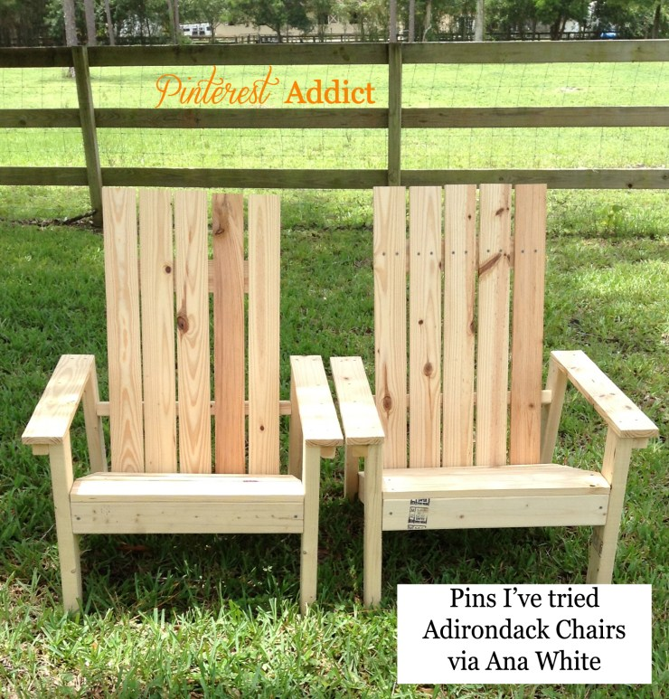 Pins I've Tried: adirondack chairs